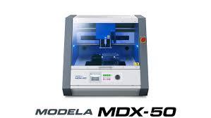 3d milling machine roland dg announces the launch of the mdx 50 automated 3d milling