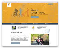 website homepage design prairie travelers website flint hills design