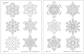 snowflake printable templates u0026 coloring pages firstpalette