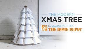 Home Made Modern by How To Make A Modern Wooden Christmas Tree Out Of Plywood Youtube
