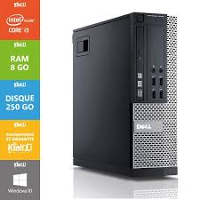 pc bureau intel i3 pc bureau dell optiplex 790 i3 8 go ram 250 go disque dur