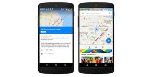 Google Maps Navigation Google Maps Makes It Easier To Find U0026 Navigate This Year U0027s Pride