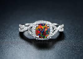 black opal rings images 18k white gold plated black opal ring peermont jpg