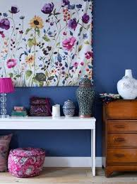 Modern Decor Ideas With Floral Fabric Prints And Textiles - Home decor textiles