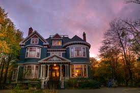 Mansion Design Photos Canada Mansion Evening Cities Building Design