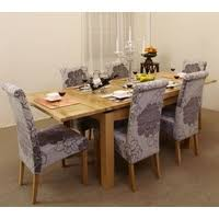 Grey Fabric Dining Room Chairs Dining Tables For Sale Uk Shop