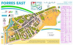 Coverage Map Sprint Sprint Final U2013 Forres Woc 2015