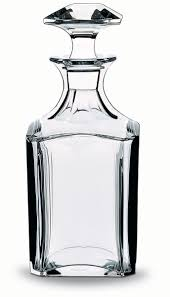 Baccarat Crystal Barware Baccarat Perfection Square Whiskey Decanter