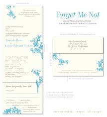 seal and send invitations seal and send invitations on 100 recycled paper forget me not