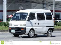 suzuki mini truck private car mini van of suzuki super carry van editorial image