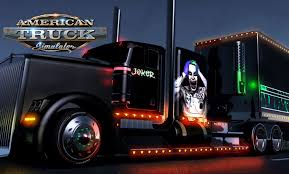 kenworth custom parts american truck simulator the joker kenworth rod with custom