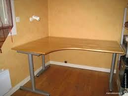 bureau ikea bois bureau d angle ikea dangle ikea bois plaquage panneaux particules