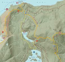 Lake Powell Map Sunshine Coast Trail Maps Powell River Bc Canada