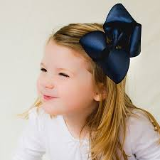hair bow big girl hair bow or stretchy baby headband caroline bitty bows