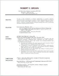 work resume exles general resume part time resume informal letters general