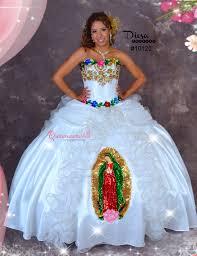quinceanera dresses white quinceanera dress virgen de guadalupe 10120qm quinceanera mall