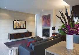 living room ideas at beach house design with simple rectilinear