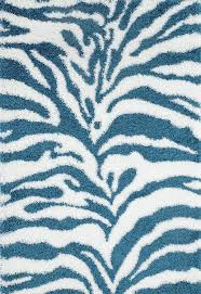Blue Animal Print Rug Turquoise Shag Zebra Print Rug Animal Print Design Cheap Area