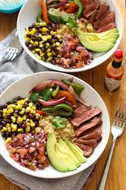 quinoa cuisine 30 minute steak and quinoa burrito bowl the on bloor