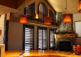 stained plantation shutters arches and other windows jpg