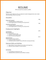college resume formats summer internship resume exles college simple student format