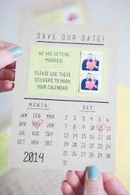 calendar save the date make your own instagram save the dates