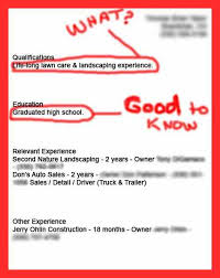 Example Of Bad Resume Poor Resume Examples Good Resume Format