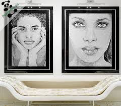 Bathroom Portraits Mb Php58 Lady Picture Bathroom Wall Murals Glass Mosaic Tile