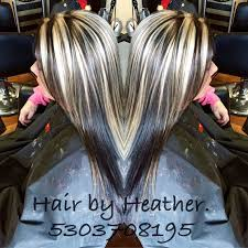 pics of platnium an brown hair styles ed064fe076a874d89a0e83aa5fefce6c jpg 736 736 hair pinterest