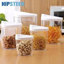 storage canisters kitchen hipsteen 5pcs environmental simple style sealed canisters kitchen