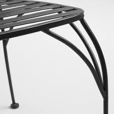 black metal cadiz stacking chairs set of 2 world market
