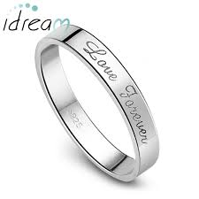 engraved wedding rings forever engraved flat wedding band for women or men