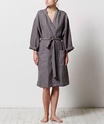 linen robe
