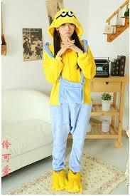 Cheap Halloween Costumes Pajamas Minions Minions Onesie Despicable Kigurumi 4kigurumi