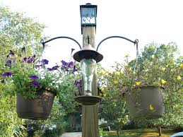Solar Plant Lights by Solar Hummingbird Feeder Bird Feeder Hanging Flower Plant