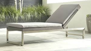 Sunbrella Outdoor Cushions Costco Chaise Lounge Wade Logan Claverton Down Outdoor Chaise Lounge