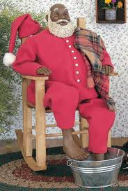 Santa Claus Rugs 133 Best African American Black Santas And Ornaments Images On