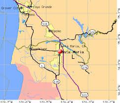 santa california map santa california ca 93458 profile population maps
