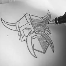 viking icon concept clientwork armory logo brand sweyda