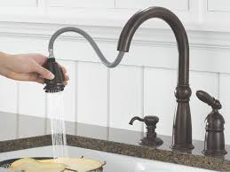 no touch kitchen faucets brass no touch kitchen faucet single handle pull spray