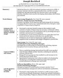 Resume Samples Business Management by Handsome Marketing Resume Examples Sample Resumes Livecareer