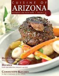 cuisine de a z chef advertise cuisine of arizona