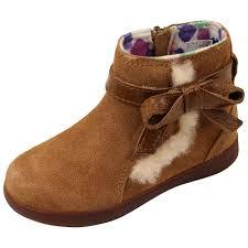 ugg boots australian leather ugg australia leather bow trim boots chestnut tlibbiechestnut