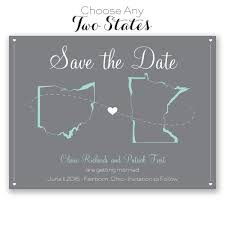save the date card state your save the date card invitations by