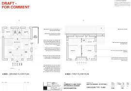 4 bed floor plans 3 bedroom house design broadhempston clt