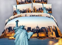 Xl Twin Duvet Covers Bedding Nyc City Themed Xl Twin Size Bedding Duvet Cover Set Dolce Mela Dm492t