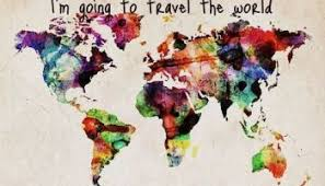 travel world map i want to travel around the world wanderlust overloaded
