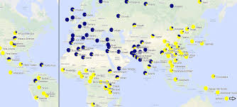 Genetic Map Of Europe by Arch Hades Northern Italians Are Biologically Southern European