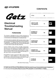 hyundai getz 2005 workshop manual etm pdf