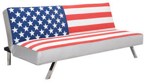 american flag futon sofa bed contemporary futons by gold sparrow